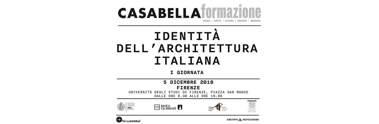 AM3 @ XV convegno identità dell'architettura italiana