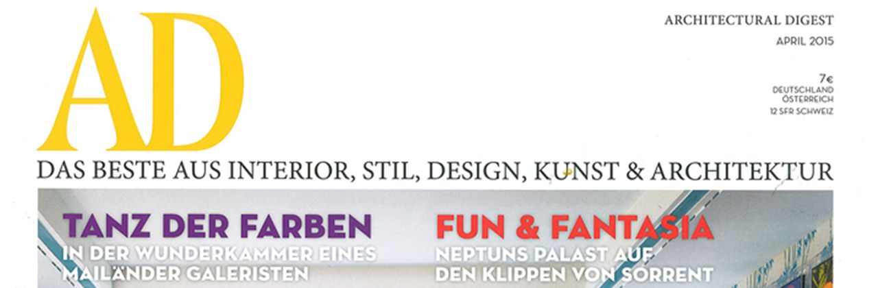 Published in AD Germany n°158