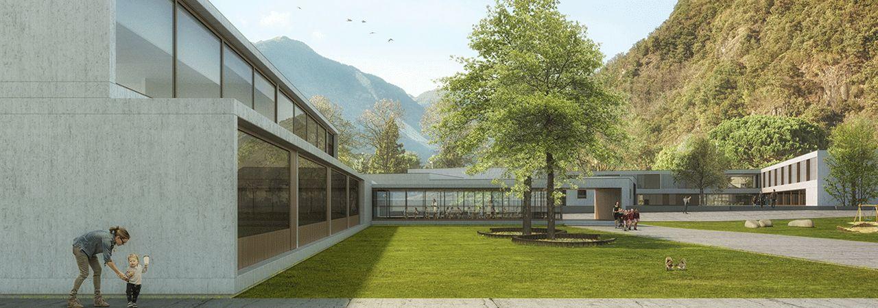 KINDERGARTEN AND SCHOOL COMPLEX