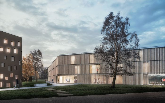 NEW BUILDING FOR 'COLLEGIO DI MILANO'